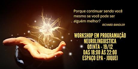 Workshop de Programação Neurolinguistica ingressos