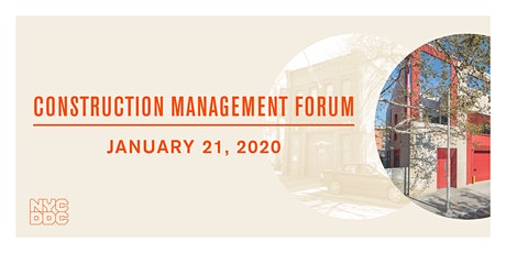 Construction Management Forum  tickets