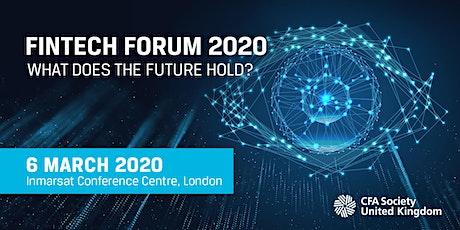 Fintech Forum 2020 tickets
