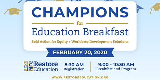 Champions for Education Breakfast