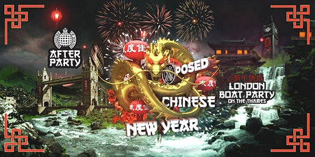 Chinese New Years Boat Party with Ministry of Sound After Party! tickets