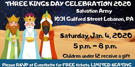Three Kings Day Celebration 2020 tickets