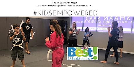 Kids Empowered! Krav Maga for Fitness, Confidence & Emotional Intelligence tickets