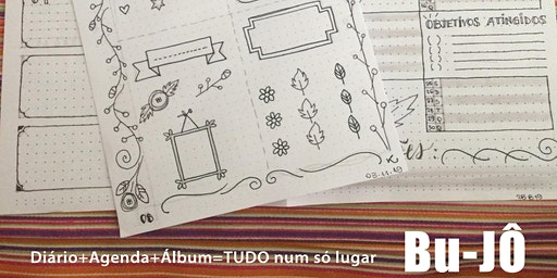 Bullet Journal - Workshop com doodles