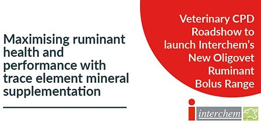Interchem CPD:Maximising ruminant health & performance with trace elements
