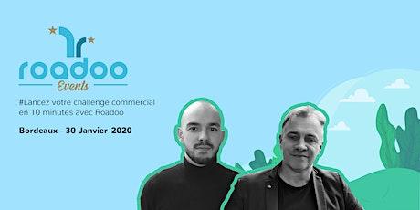 Lancez votre challenge commercial en 10 minutes avec Roadoo billets