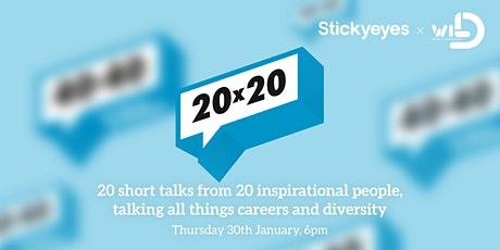 20 x 20 - 20 Short talks from 20 inspirational people. tickets