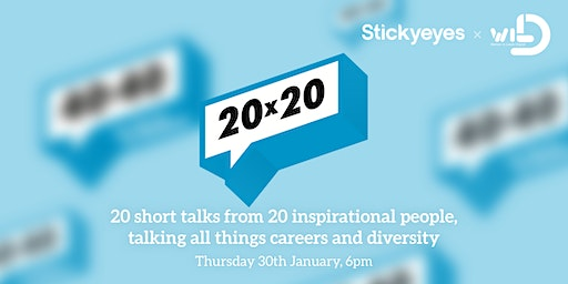 20 x 20 - 20 Short talks from 20 inspirational people.