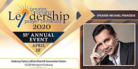 Greater Omaha Leadership Prayer Breakfast tickets
