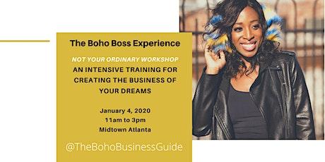 The Boho Boss Experience tickets
