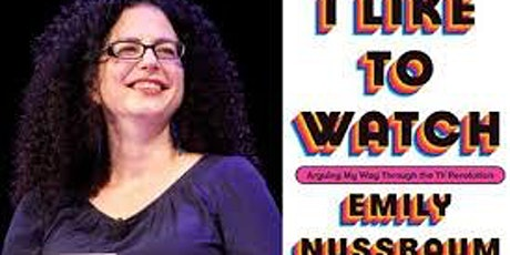 Pop-Up Book Group with Emily Nussbaum: I LIKE TO WATCH tickets