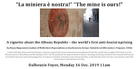 """""""La miniera è nostra!"""" """"The mine is ours!"""" tickets"""