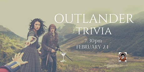 Outlander Trivia - Feb 24, 7:30pm - Garbonzo's tickets