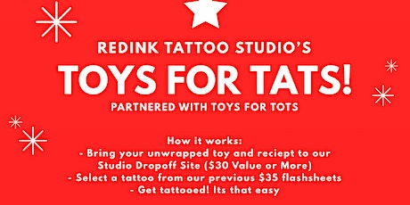TOYS FOR TATS tickets
