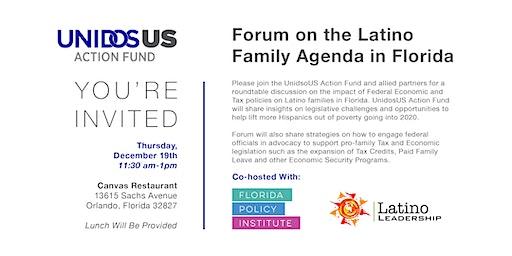 Forum on the Latino Family Agenda in Florida