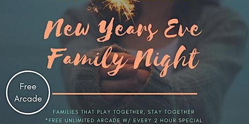 New Years Eve - Family Night Celebration 2019/2020