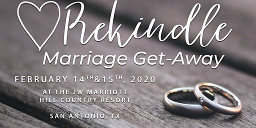 Rekindle- Marriage Get-Away