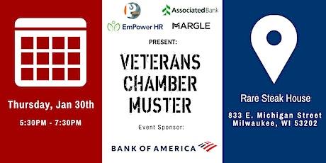 Veteran Chamber Muster- Milwaukee tickets