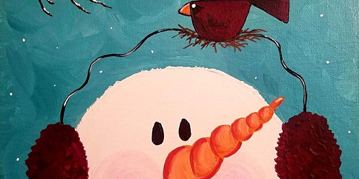 Paints & Pints at 7 Dogs Brew Pub - Frosty! w/ Abby Wilner