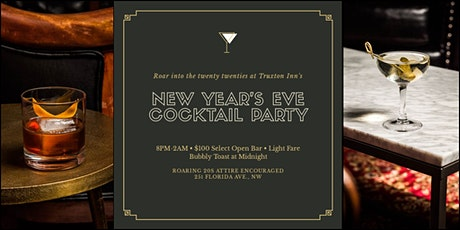 Truxton Inn's Roaring Twenties New Year's Eve Cocktail Party tickets