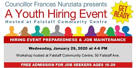Hiring Event Preparedness and Job Maintenance tickets