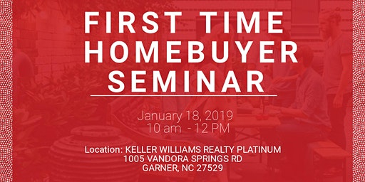 First Time Homebuyer Seminar