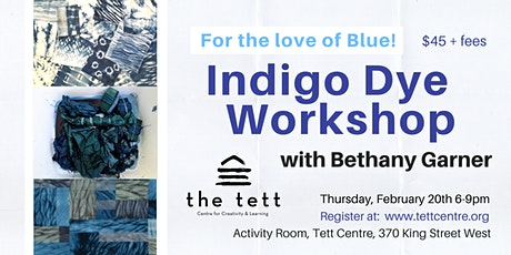 Indigo Dye Workshop  tickets