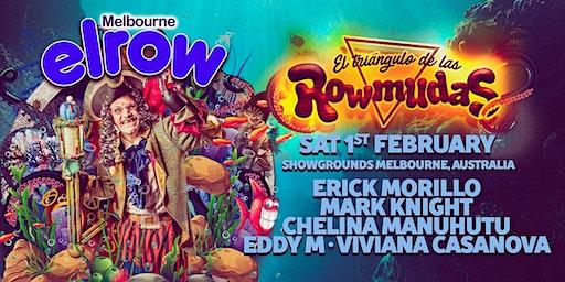 elrow Melbourne - Triángulo de las Rowmudas