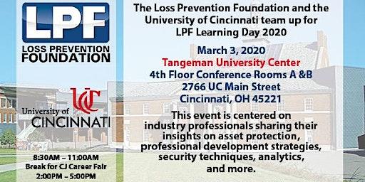 LPF Learning Day 2020 at The University of Cincinnati