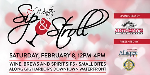 Gig Harbor's Winter Sip & Stroll