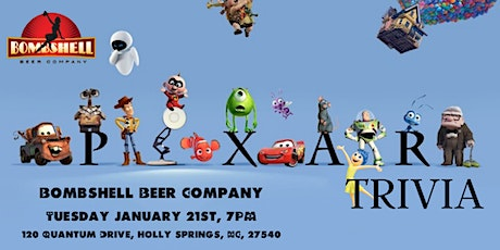 Disney Pixar Trivia at Bombshell Beer Company tickets