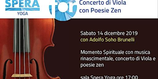 Momento Spirituale con Concerto di Viola e Poesie Zen - SPECIAL EVENT