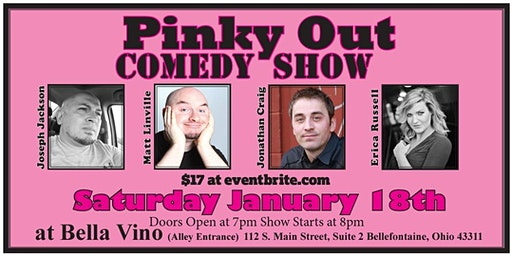 Pinky Out Comedy Show