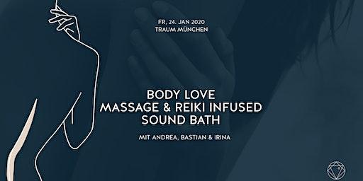 BODY LOVE | ALCHEMY SOUND BATH & MASSAGE IM TRAUM MÜNCHEN