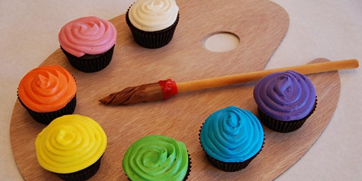 Crete Cupcakes and Canvas Paint Party!!!