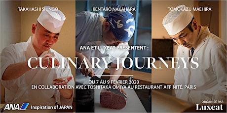ANA et Luxeat présentent  Culinary Journeys billets