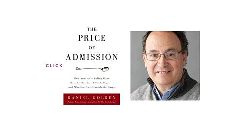 Pop-Up Book Group with Daniel Golden: THE PRICE OF ADMISSION