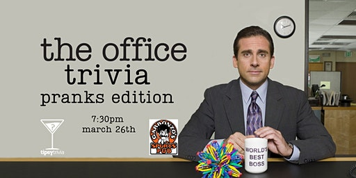The Office Trivia - March 26, 7:30pm - Garbonzo's