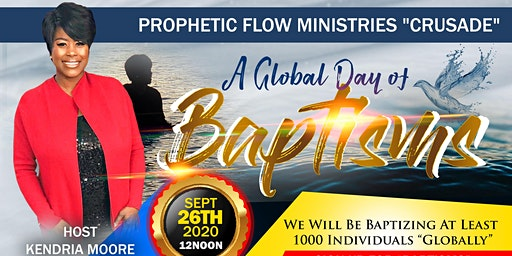 """A Global Day of Baptisms"""
