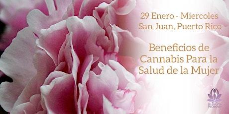 Ellementa San Juan: Beneficios de Cannabis Para la Salud de la Mujer tickets