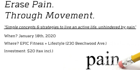 Movement as Medicine - January 18th, 2020 tickets