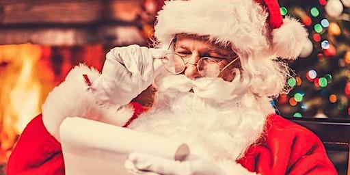 Photos with Santa December 20th & 21st