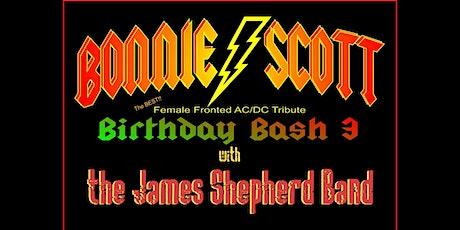Bonnie Scott Tribute to AC/DC | James Shepherd Band tickets