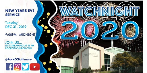 Watchnight Service 2019 ---> 2020