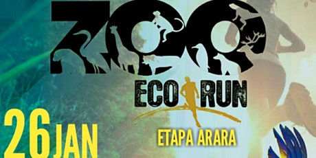 """CIRCUITO ECOLOGICA ZOO ECO RUN 9k """"ETAPA ARARA"""" ingressos"""