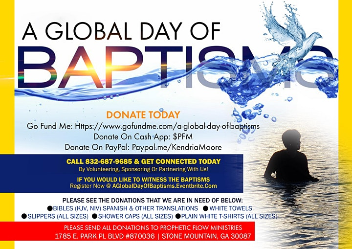 """""""A Global Day of Baptisms"""" image"""