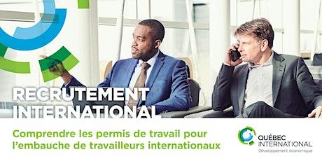 Comprendre les permis de travail pour l'embauche de travailleurs internationaux billets