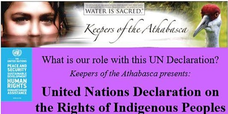 United Nations Declaration on the Rights of Indigenous Peoples tickets