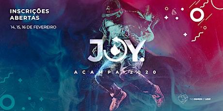 Acampa Joy 2020 ingressos