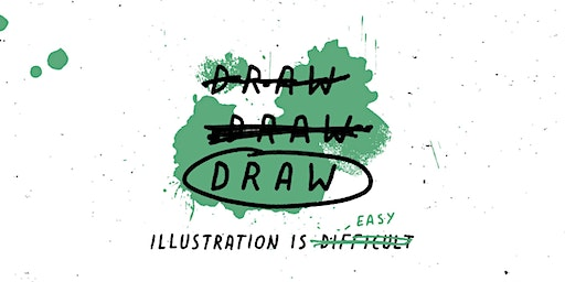 DRAW DRAW DRAW Illustration Workshop with @DavidGalletly
